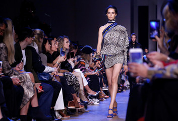 Elie Saab Spring/Summer 2019 women's ready-to-wear collection at Paris Fashion Week in Paris