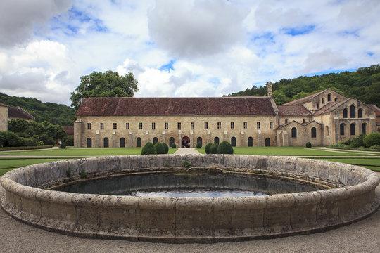 Abbey of Fontenay in Bourgogne