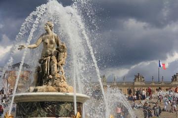 Fotobehang Fontaine Château de Versailles