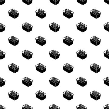 Hand wash 40 degrees celsius pattern vector seamless repeating for any web design