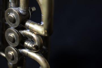 Part of a vintage soviet time cornet