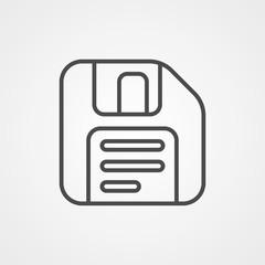 Save vector icon sign symbol