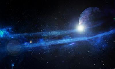 космос и звёзды
