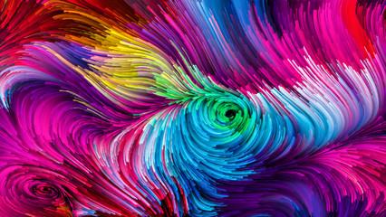 Conceptual Colorful Paint