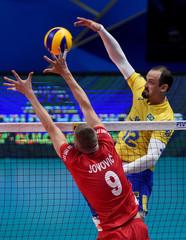 Men's World Championship Italy-Bulgaria 2018 - Semi Final - Brazil v Serbia