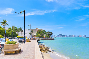 View from Penang isalnd, Malaysia