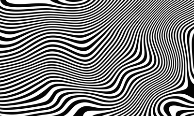 Abstract background of fell zebra