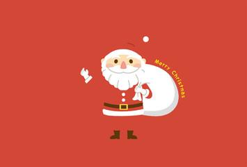 クリスマス サンタクロース フレーム