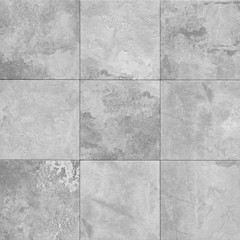 grey stone texture pattern - patchwork tile / tiled background