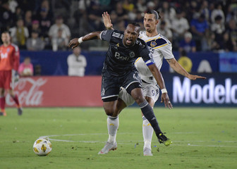 MLS: Vancouver Whitecaps at Los Angeles Galaxy