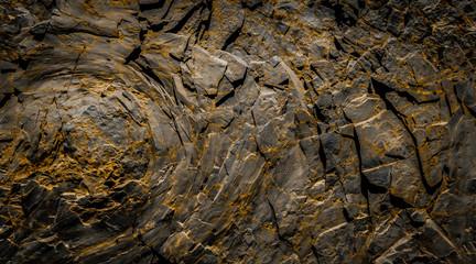 dark rocks  background - black rock stone texture