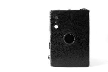 Black Rectangular Box Vintange Film Camera