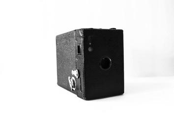 Vintage Film Camera Black