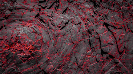 black and red rocks - rock stone background