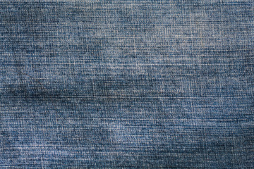 Texture form blue jeans. for use to background fashion concept.