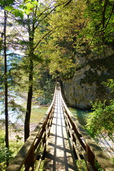 Logar Valley or Logarska Dolina located near to Solcava in Northern Slovenia