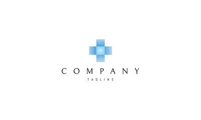 Blue Cubes vector logo image