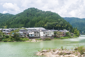 countryside town of Japan