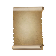 Old Paper Scrolls Banner