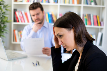 Negative emotions during bad job interview and resume mistake