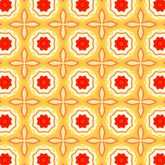 Ornamental Arabesquegeometric pattern . Islamic mosaic design and decoration.