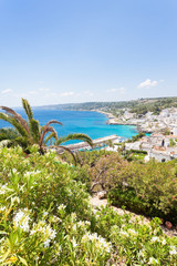 Apulia, Castro Marina - A beautiful view upon the coastline of Castro Marina