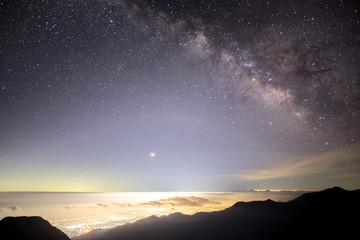 燕岳の星空
