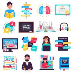 Foreign Language Training Set