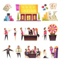Casino Life Characters Set