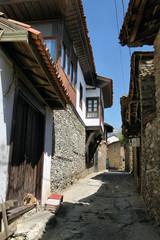 Historical Birgi Homes in Izmir, Turkey