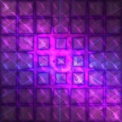 Purple Fractal Background Pattern