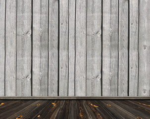 old wooden room, vintage background