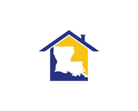 Louisiana Real Estate Logo Icon 1