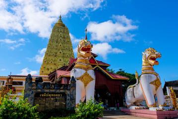 Wat Wang Wiwakaram Together with the Karen and Mon It was built in 1953 at Wangkuk House. Sangkhlaburi District Kanchanaburi, Thailand Photographed on 27/9/2018