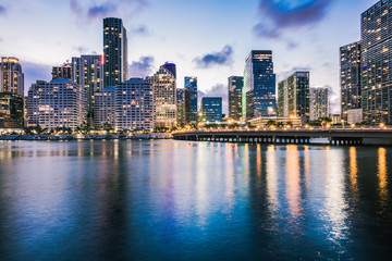 The Miami Skyline from Brickell