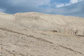 Montagna rocciosa in Croazia - paesaggio brullo