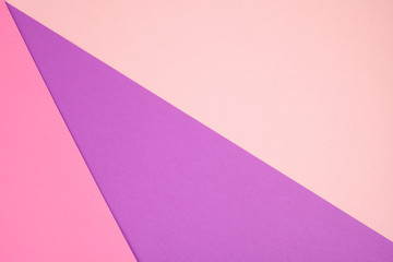 Abstract paper minimal background in pink pastel colors