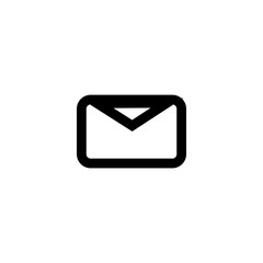 Email vector icon isolated on background. Trendy sweet symbol. Pixel perfect. illustration EPS 10.