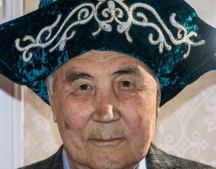 Kazakh old man