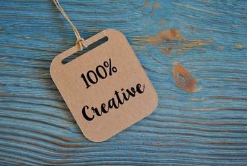 Fototapeta 100% creative obraz