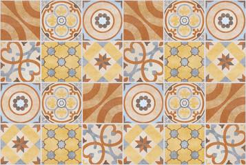 patchwork pattern tile background - tiled design