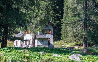 House in the Alps, Madonna di Campiglio, Trentino