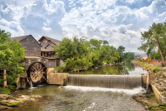 Old Mill on River