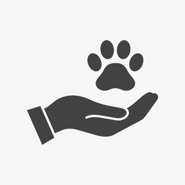 Pet care vector icon