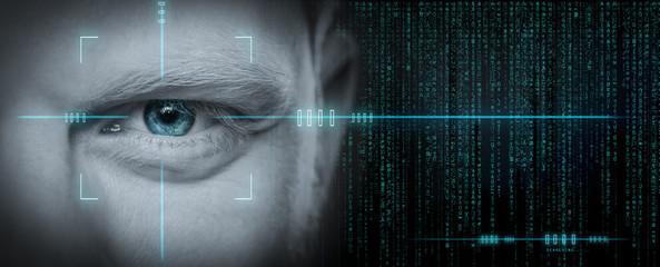 Dark Web Hooded Hacker