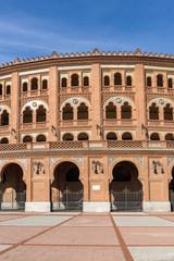Las Ventas Bullring (Plaza de Toros de Las Ventas) situated at Plaza de torros in City of Madrid, Spain