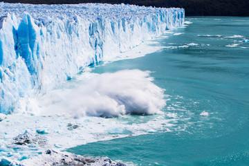 Ice Calving - Stock image