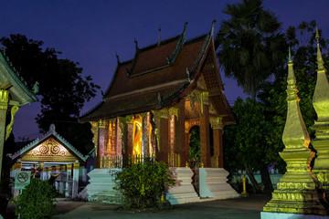 Laos - Luang Prabang - Wat Sensoukharam