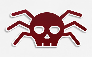 Isolated malware virus icon illustration