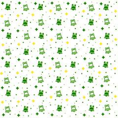 Winter seamless pattern background vector illustration